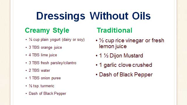 Susan-Cambell-Health-Coach-Dressing-Without-Oil-Fats