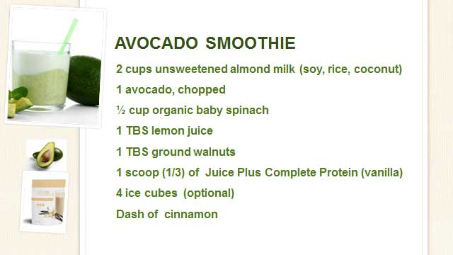Susan-Cambell-Health-Coach-Smoothie-Avocado-Fats-Recipe