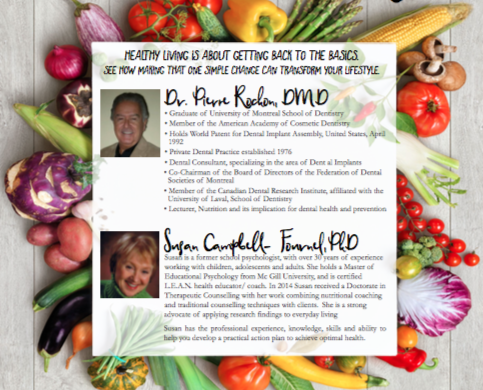 ONE SIMPLE CHANGE with Susan Campbell Fournel and Dr. Rochon