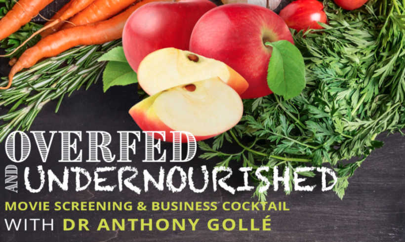 Conference : OVERFED & UNDERNOURISHED with Anthony Gollé