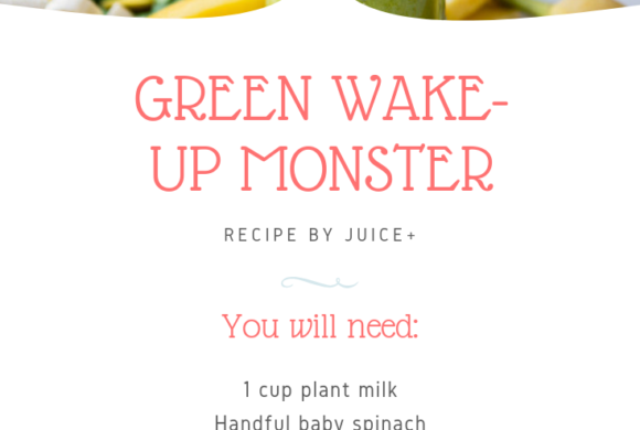 Green Wake-Up Monster | Juice Plus +