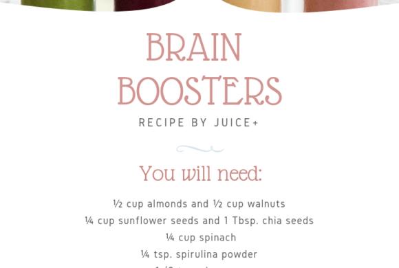 Brain Boosters Smoothie | Juice Plus +