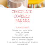 Chocolate Covered Banana | Juice Plus +