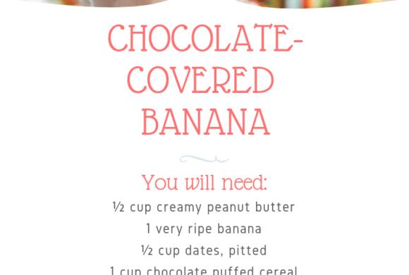 Chocolate Covered Banana | Juice Plus +