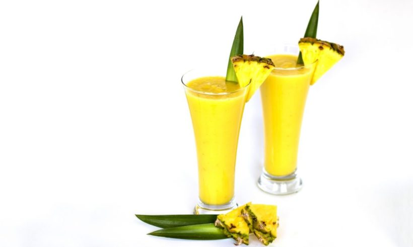 Smoothie banane et ananas |Juice Plus +
